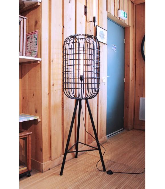 Lampadaire Cage Grand Modèle