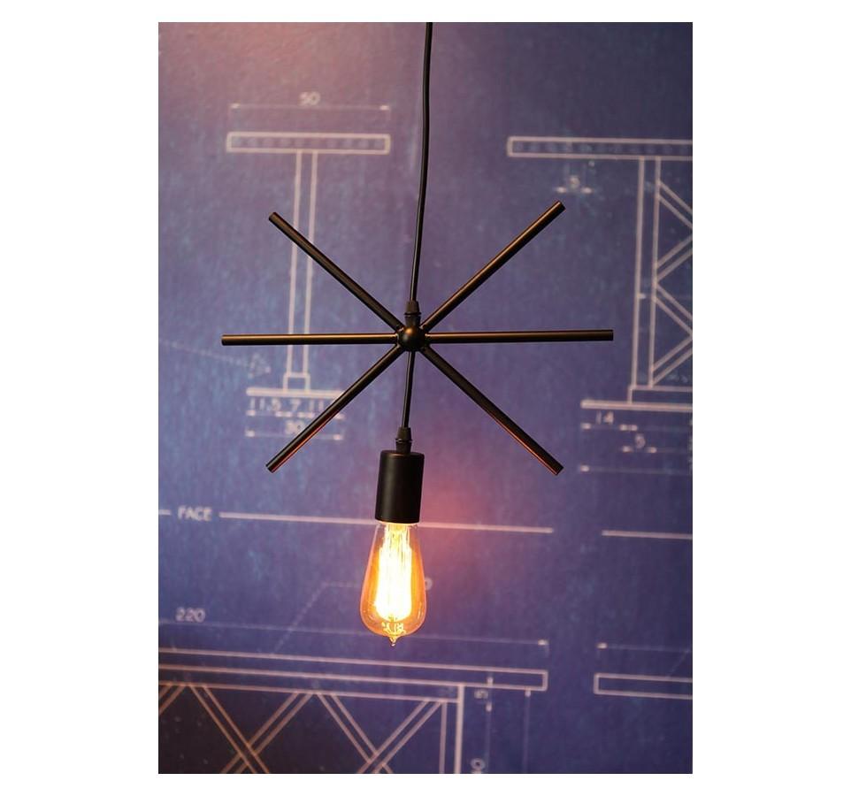 suspension g ometrique design etoile cercle carre triangle rectangle pour ampoule. Black Bedroom Furniture Sets. Home Design Ideas