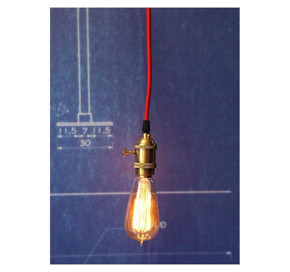 Suspension ampoule filament maison design - Suspension multiple ampoule ...