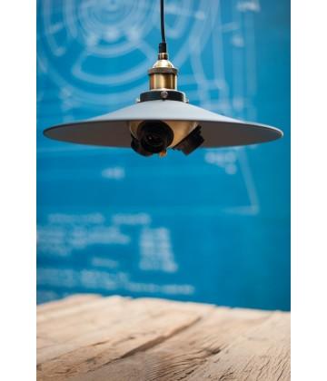 Suspension  style Vintage industriel - Pour 3 Ampoules a filament Edison