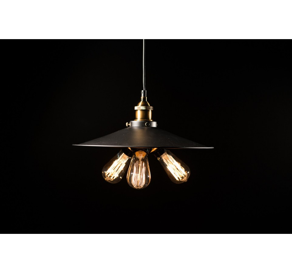 Suspension style vintage industriel ampoule filament edison st58 t45 - Suspension vintage industriel ...