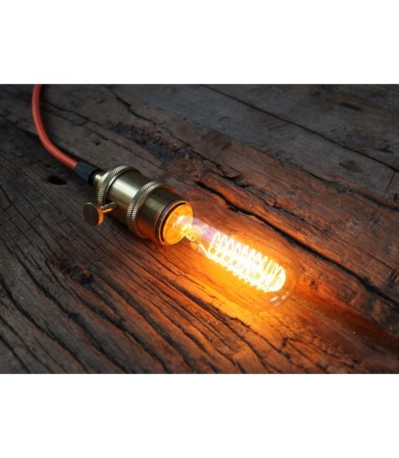 Ampoule à Filament Edison type Radio  à cage d'écureuil E27 style Vintage Industriel T45