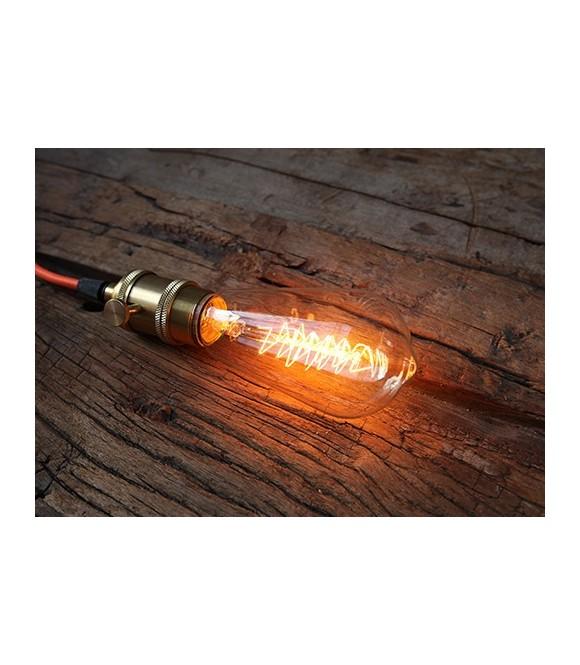 Poire Ampoule à Filament sapin Edison à cage d'écureuil E27 style Vintage Industriel  ST 58