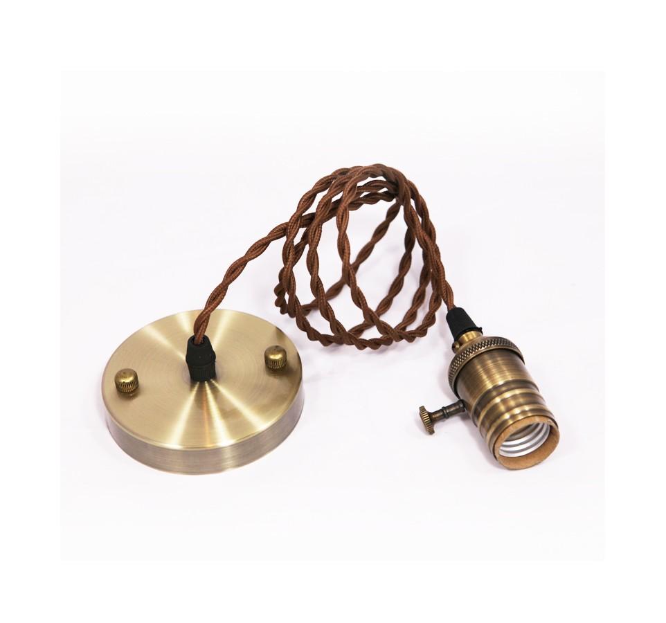 suspension ampoule cuivre amazing design balises accrocher rtro shabby cuivre lampe suspension. Black Bedroom Furniture Sets. Home Design Ideas