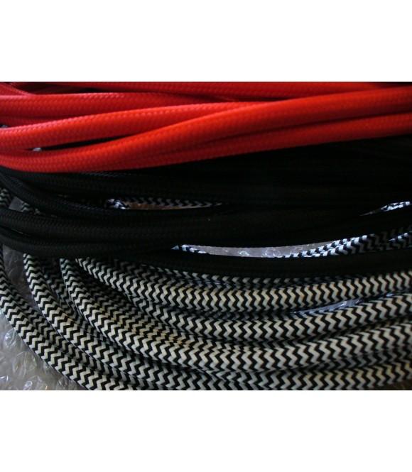 Câble Textile Rétro 3 Conducteurs