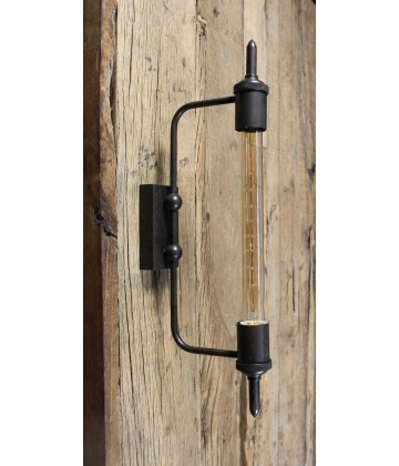 Applique Murale Tube Vintage Industriel