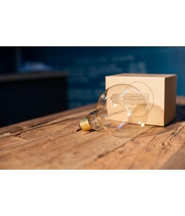 Ampoule Globe G125 a Filament vertical Edison E27 style Vintage Industriel