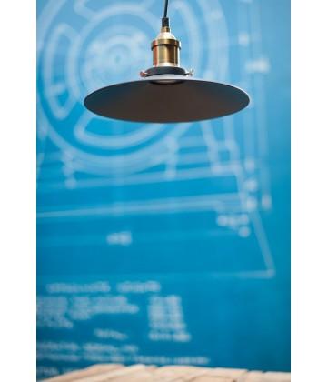 Suspension style Vintage industriel - Pour Ampoule a filament Edison