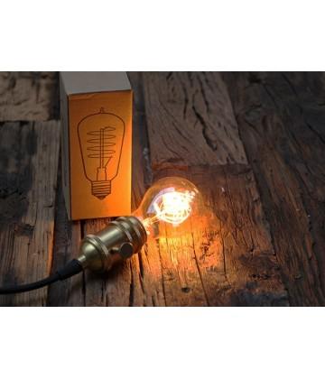 Ampoule Poire A19 a Filament Type Edison E27 style Vintage Industriel