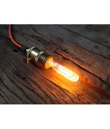 Ampoule Radio T45 - 2 a Filament spirale E27 style Vintage Industriel