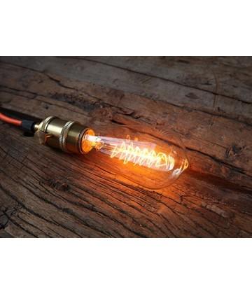 Ampoule Poire ST 64 a Filament Sapin de Noel Type Edison E27 style Vintage Industriel