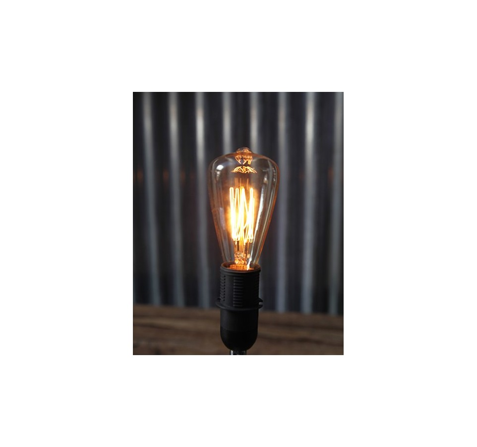 poire ampoule filament type edison e14 st48. Black Bedroom Furniture Sets. Home Design Ideas