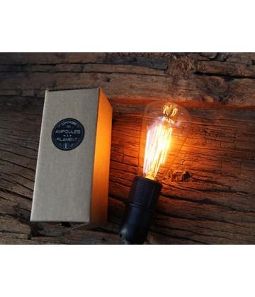Ampoule Poire ST48 a Filament Type Edison E14 style Vintage Industriel