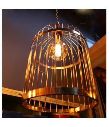Suspension a tube style vintage industriel - Pour Ampoule a filament Edison