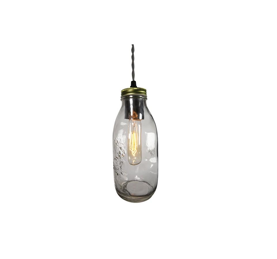suspension vintage style industriel pour ampoule filament edison. Black Bedroom Furniture Sets. Home Design Ideas