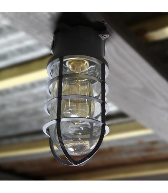 Ampoule Cage T10 Applique Industriel Murale À Edison Vintage Filament TlF1cKJ