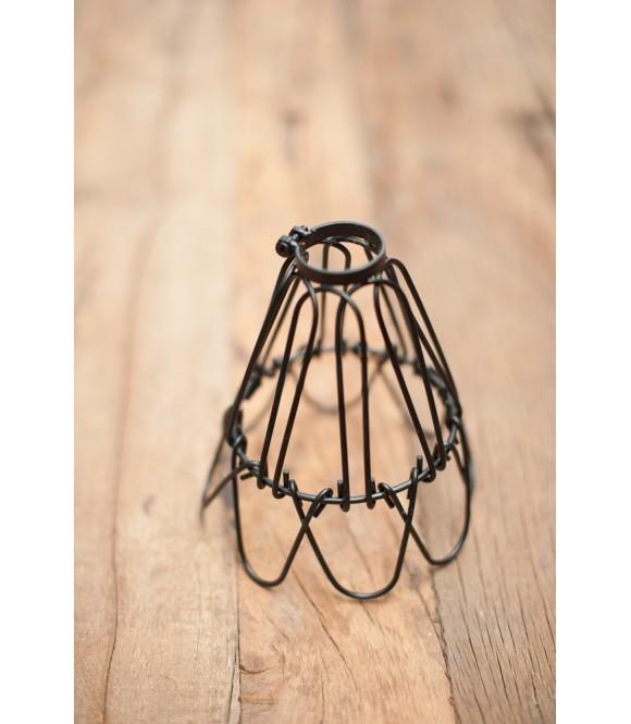 Abat-jour type Panier Vintage industriel - Pour Ampoule à Filament Edison