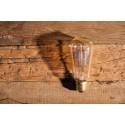 Ampoule Poire ST58 a Filament Type Edison E27 style Vintage Industriel